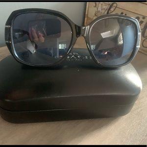Authentic black COACH sunglasses